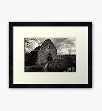 Ullard Church, near Graiguenamanagh, County Kilkenny, Ireland Framed Print
