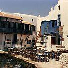 Greek taverna. by prema