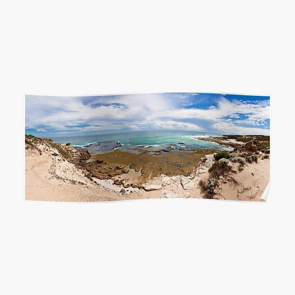 Rye Back Beach Coast, Victoria, Australia - Day Time Poster