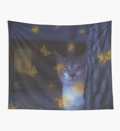 Fireflies Wall Tapestry