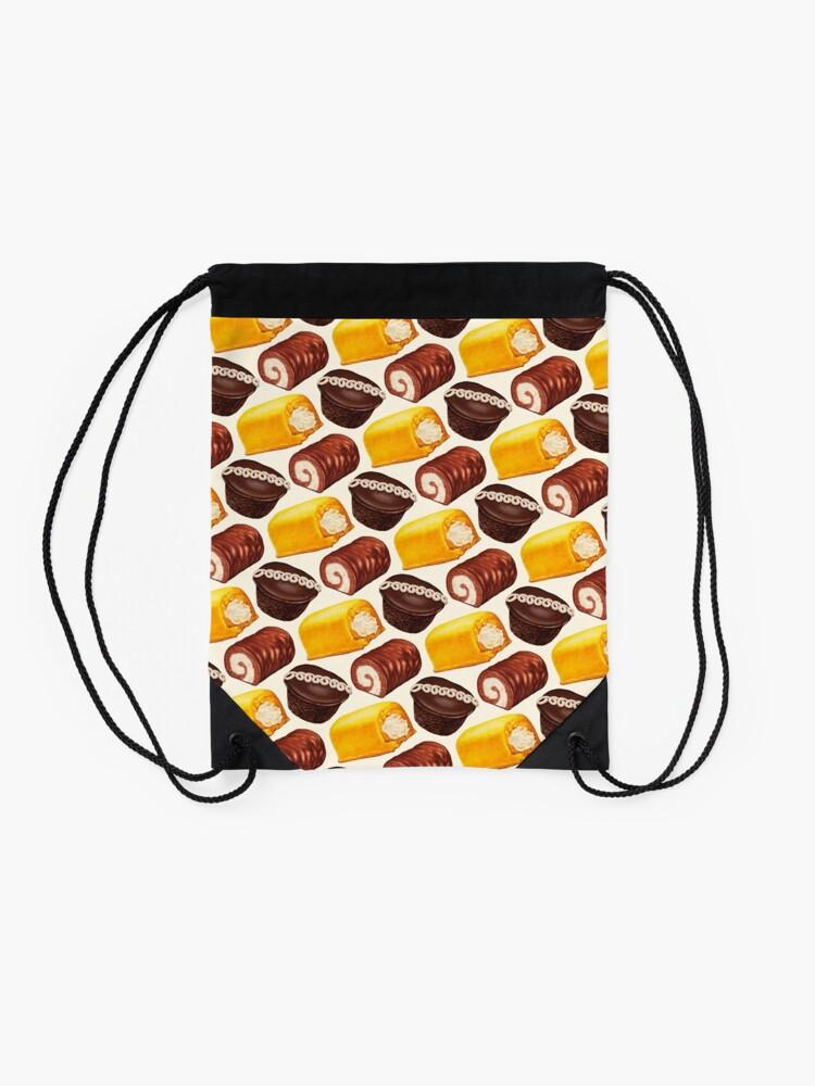 Alternate view of Hostess Cakes Pattern Drawstring Bag