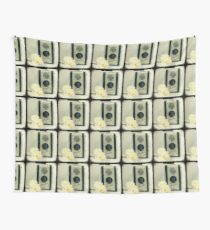 Floral Duaflex, vintage camera Wall Tapestry