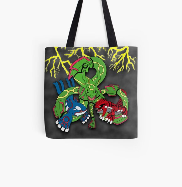 Rayquaza, Kyogre, & Groudon - Hoenn Remake Ahoy! All Over Print Tote Bag