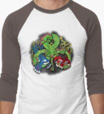 Rayquaza, Kyogre, & Groudon - Hoenn Remake Ahoy! Baseball ¾ Sleeve T-Shirt
