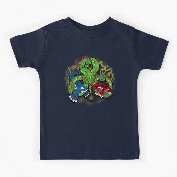 Rayquaza, Kyogre, & Groudon - Hoenn Remake Ahoy! Kids T-Shirt
