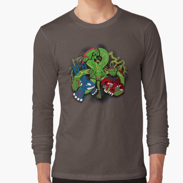 Rayquaza, Kyogre, & Groudon - Hoenn Remake Ahoy! Long Sleeve T-Shirt