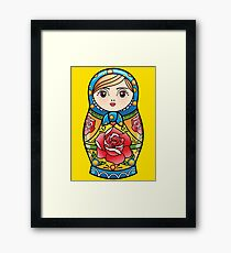 russian nesting doll Framed Print