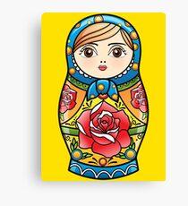 russian nesting doll Canvas Print