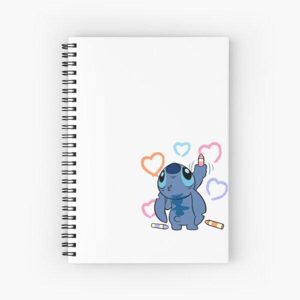 Copy of Stitch Spiral Notebook