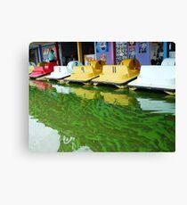 Nature's Palette  Lake Burley Griffin Canvas Print