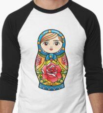 russian nesting doll Men's Baseball ¾ T-Shirt