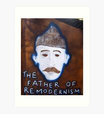 Father of Remodernism Art Print