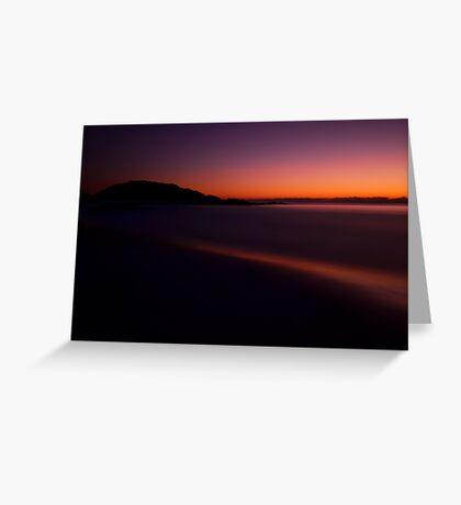 Sunset......... Greeting Card