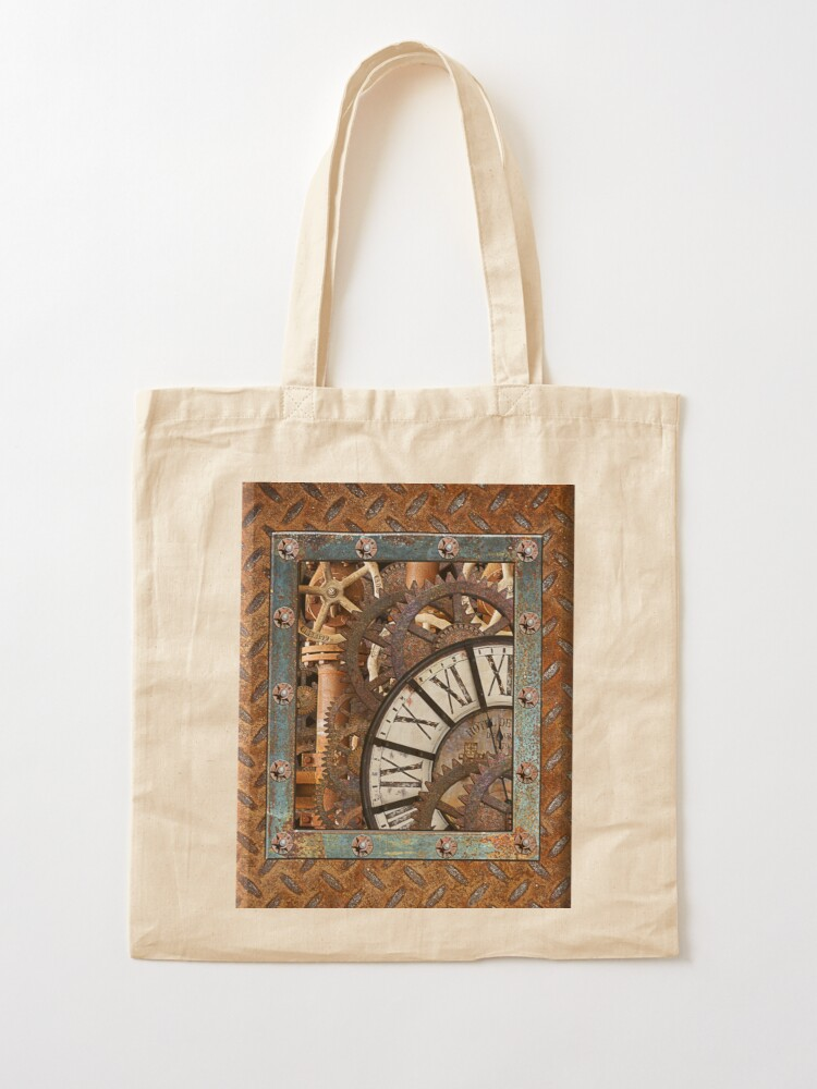 Alternate view of Steampunk Gizmos #1 Tote Bag