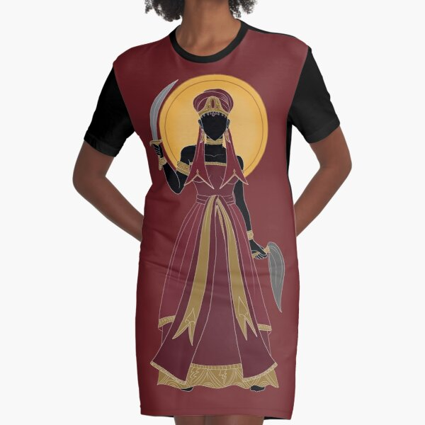 Oya Iansa Graphic T-Shirt Dress