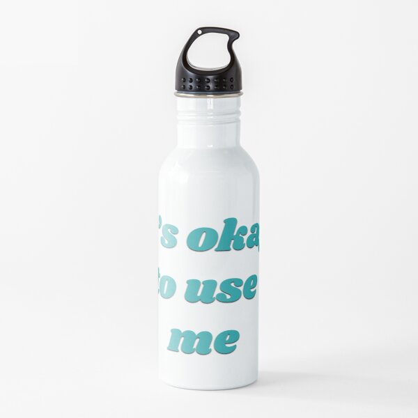 Submissive Slogan Water Bottle