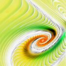 Artistic Spiral by Deborah  Benoit