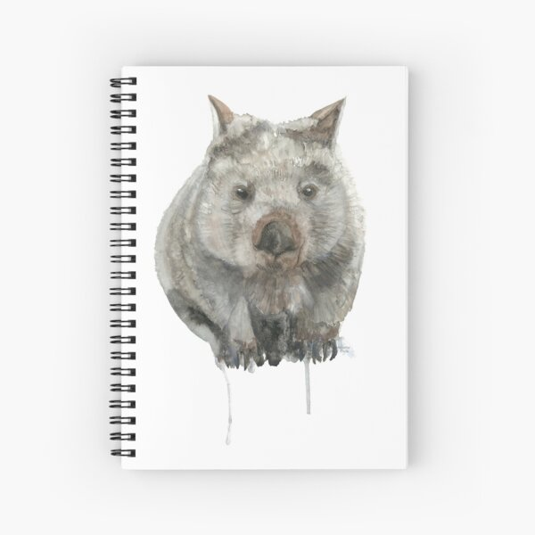 Common Wombat Spiral Notebook