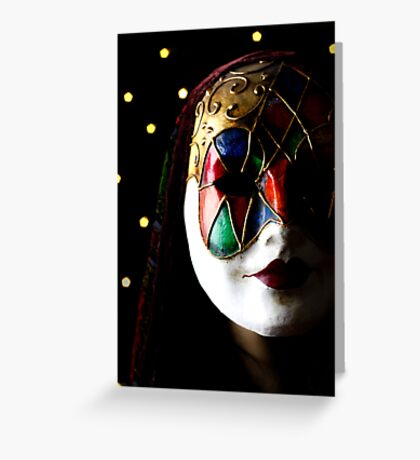 Masquerade Greeting Card