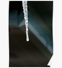 Pump House Icicle Poster
