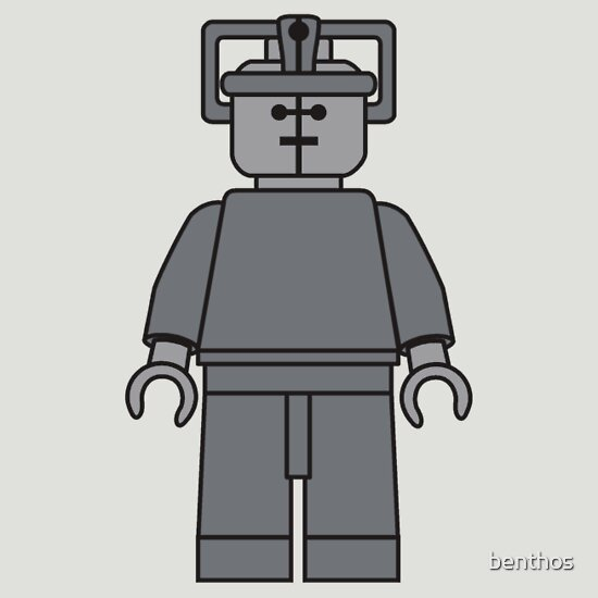 TShirtGifter presents: Lego Minifig - Cyberman