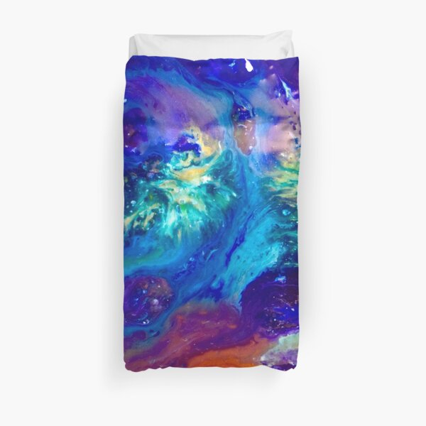 Galactic Bliss Duvet Cover