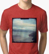 The beach Tri-blend T-Shirt
