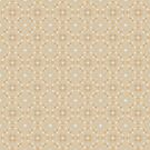 Light Brown Geometric Pattern by Cherie Balowski