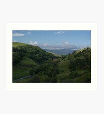 Smardale Gill viaduct - Cumbria Art Print