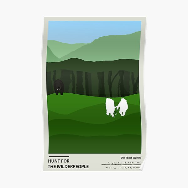 hunt for the wilderpeople poster Poster