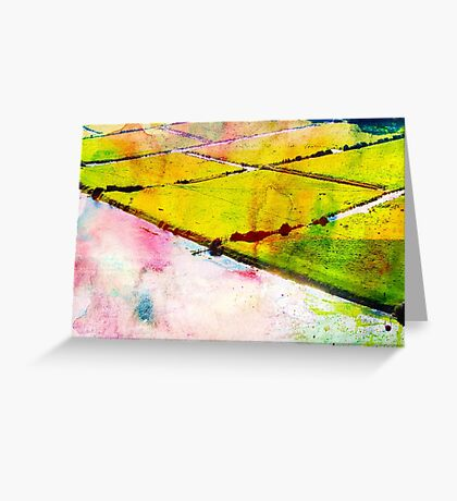 Walking on the Edge of Dreams Greeting Card
