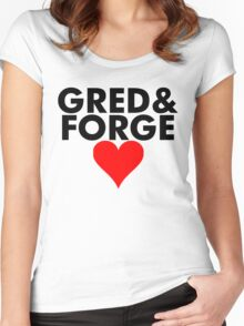 Gred and Forge Women's Fitted Scoop T-Shirt