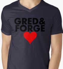 Gred and Forge Mens V-Neck T-Shirt