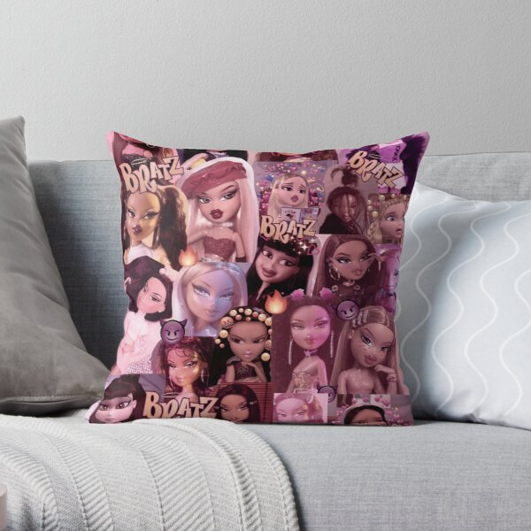 bratz Throw Pillow