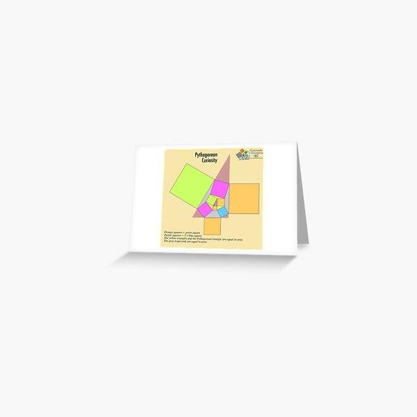 Pythagorean Curiosity Greeting Card