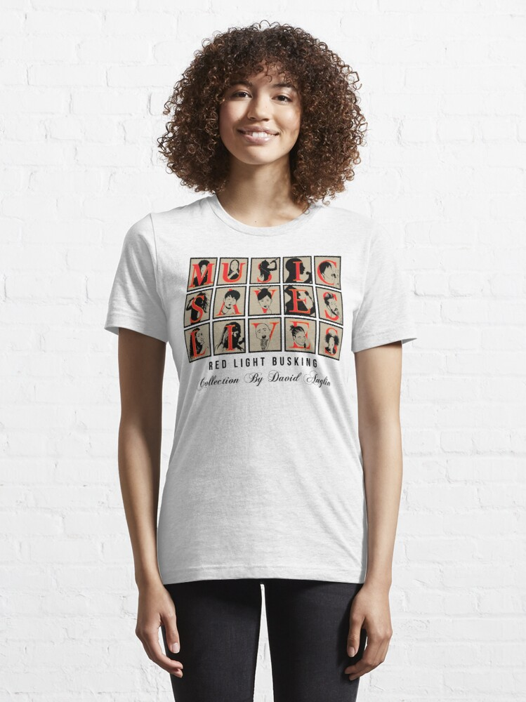 Alternate view of Music Saves Lives Essential T-Shirt
