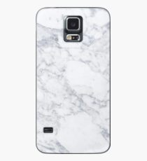 White Marble Case/Skin for Samsung Galaxy