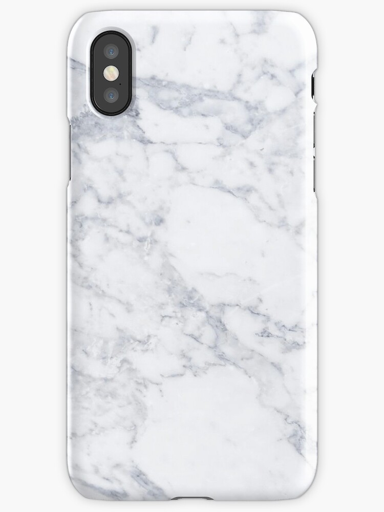 Quot White Marble Quot Iphone Cases Amp Covers By Mermaidnatalie