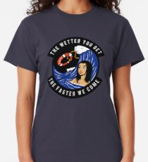 USCG - The Wetter You Get The Faster We Come Classic T-Shirt
