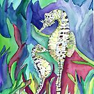 Seahorses by mleboeuf