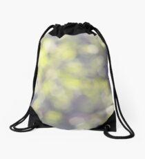 Muted greens Drawstring Bag