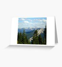 Schafer Creek Trail- Great Bear Wilderness, Montana Greeting Card
