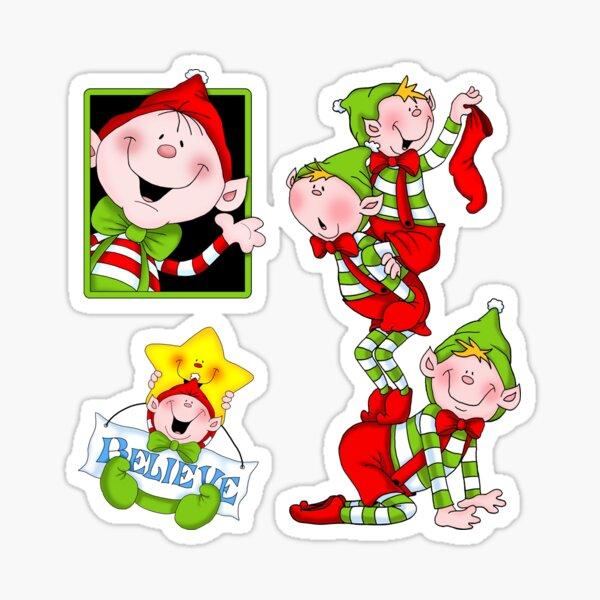 Believe in Your Elf Sticker