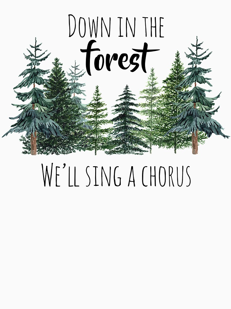 Down in the Forest We'll Sing a Chorus by teraberb