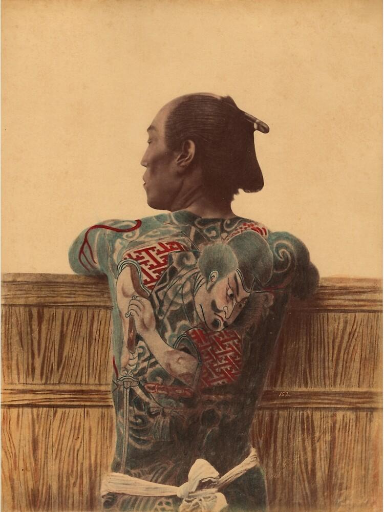 Japanese tattoo by Fletchsan