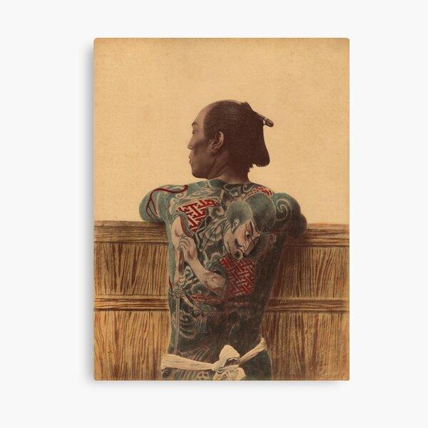 Japanese tattoo Canvas Print