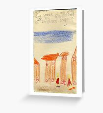 Picture Book Houses Greeting Card