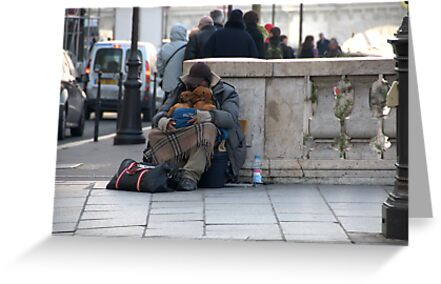Paris - Pain and love. by Jean-Luc Rollier