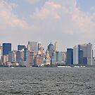 NYC Skyline Panorama by Hilda Rytteke