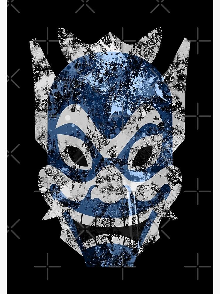 Blue Spirit Splatter by Colossal